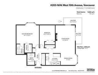 """Photo 33: 203 1696 W 10TH Avenue in Vancouver: Fairview VW Condo for sale in """"Landmark Plaza"""" (Vancouver West)  : MLS®# R2512811"""