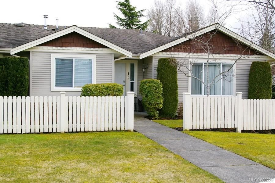 Main Photo: 13 1050 8th St in : CV Courtenay City Row/Townhouse for sale (Comox Valley)  : MLS®# 869329