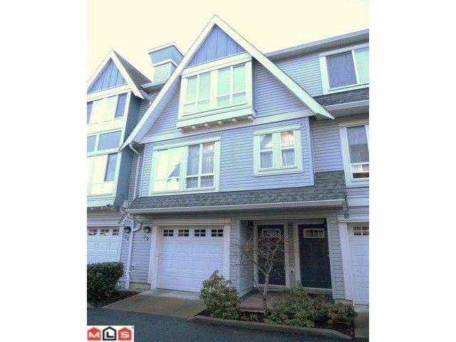 "Main Photo: 70 16388 85TH Avenue in Surrey: Fleetwood Tynehead Townhouse for sale in ""Camelot Village"" : MLS®# F1106811"