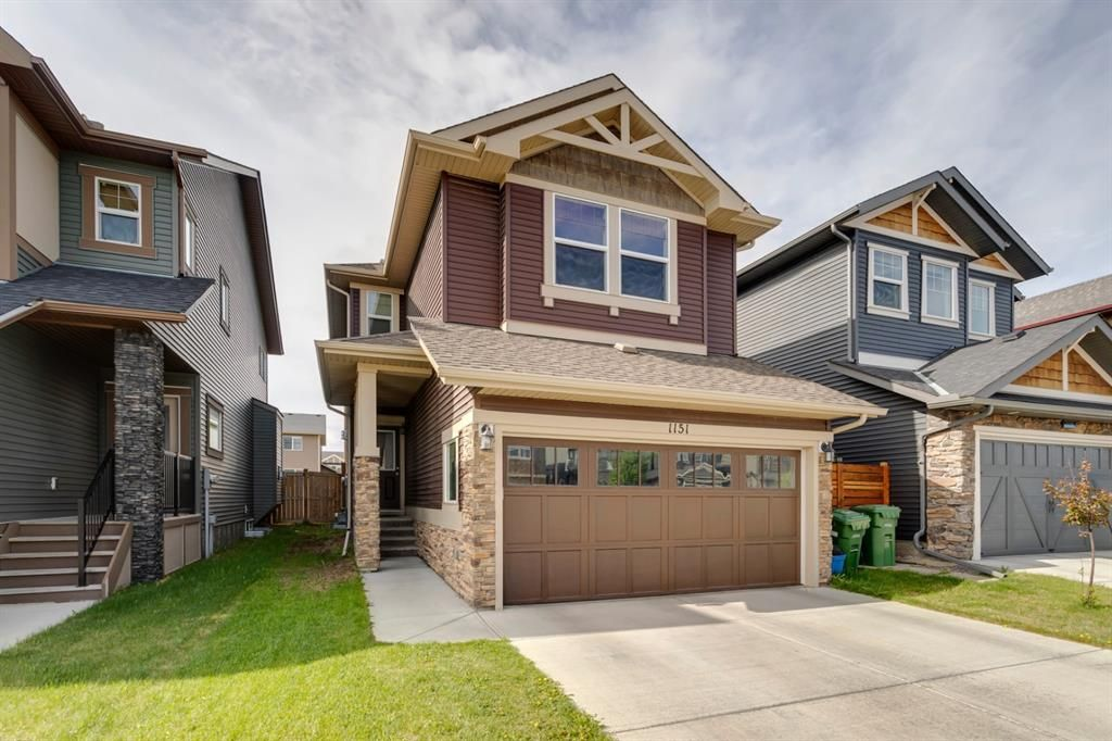 Main Photo: 1151 Kings Heights Way SE: Airdrie Detached for sale : MLS®# A1118627