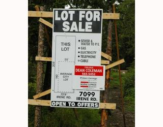Photo 1: 7099 IRENE Road in Prince_George: Lafreniere Land for sale (PG City South (Zone 74))  : MLS®# N175586