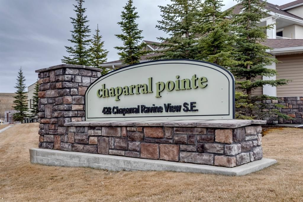 Main Photo: 238 428 CHAPARRAL RAVINE View SE in Calgary: Chaparral Apartment for sale : MLS®# A1092900