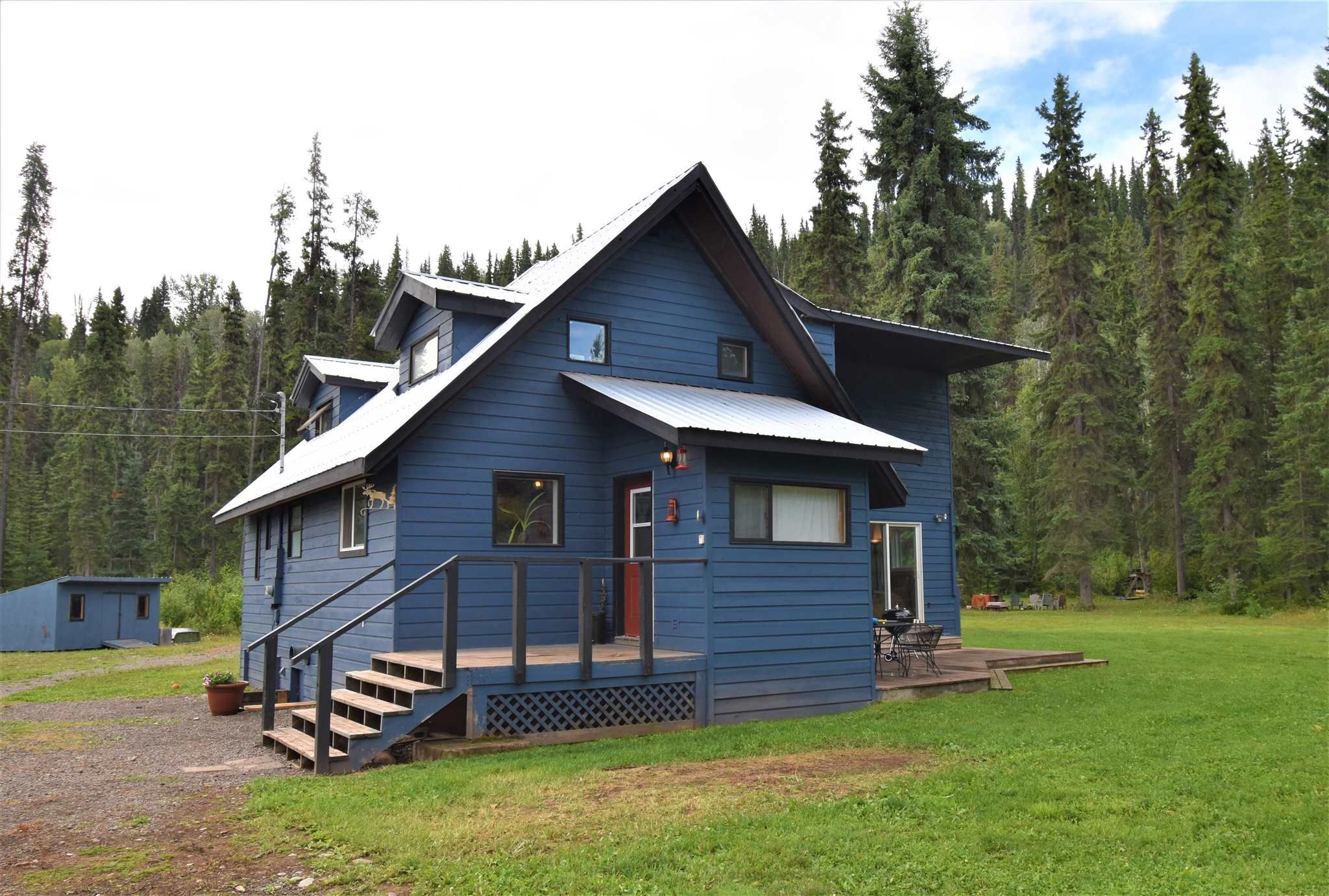 Main Photo: 1225 AVELING COALMINE Road in Smithers: Smithers - Rural House for sale (Smithers And Area (Zone 54))  : MLS®# R2607586