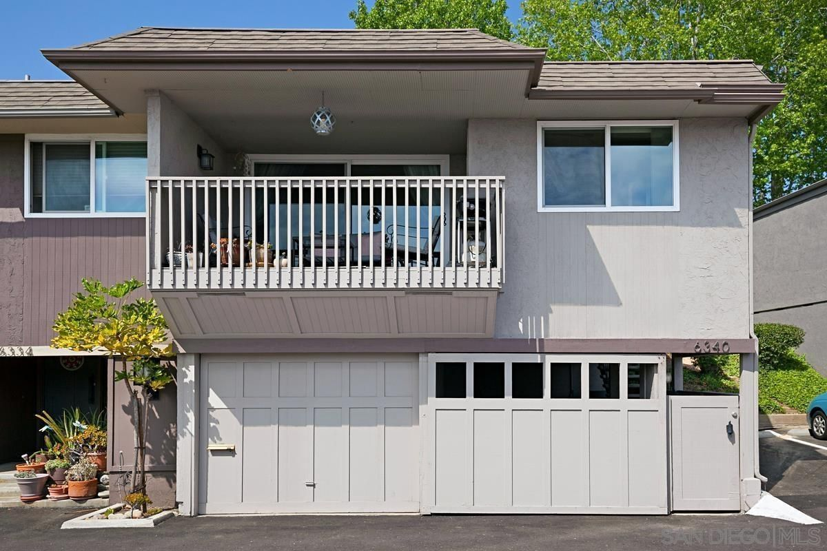 Main Photo: MISSION VALLEY Townhouse for sale : 2 bedrooms : 6340 Caminito Partida in San Diego