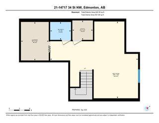 Photo 50: 21 14717 34 Street in Edmonton: Zone 35 House Half Duplex for sale : MLS®# E4234606