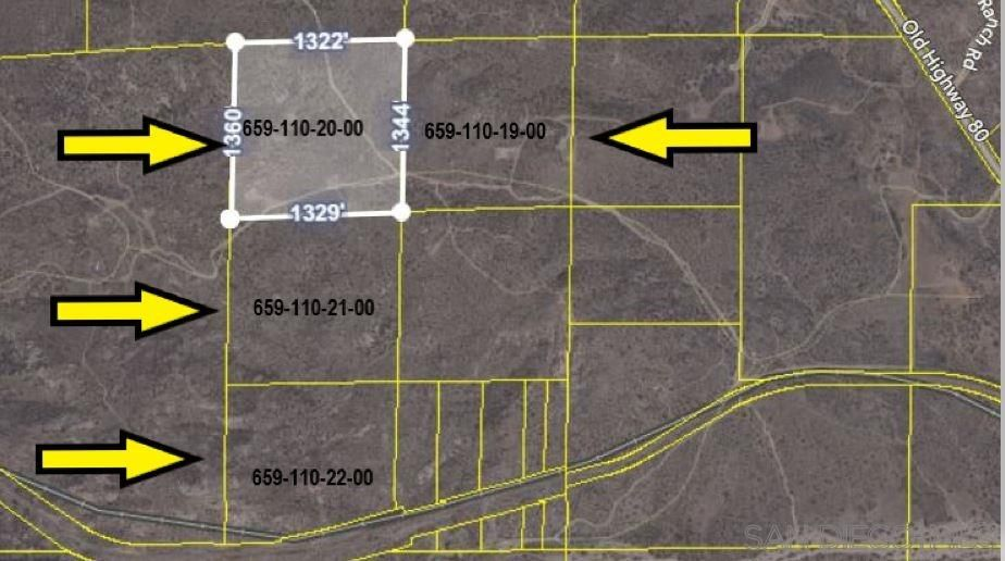 Main Photo: JACUMBA Property for sale: PAR 2 Old Highway 80