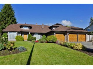 Photo 1: 5929 191A Street in Surrey: Cloverdale BC House for sale (Cloverdale)  : MLS®# F1312349