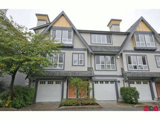 """Photo 1: 60 16388 85TH Avenue in Surrey: Fleetwood Tynehead Townhouse for sale in """"CAMELOT VILLAGE"""" : MLS®# F2922687"""