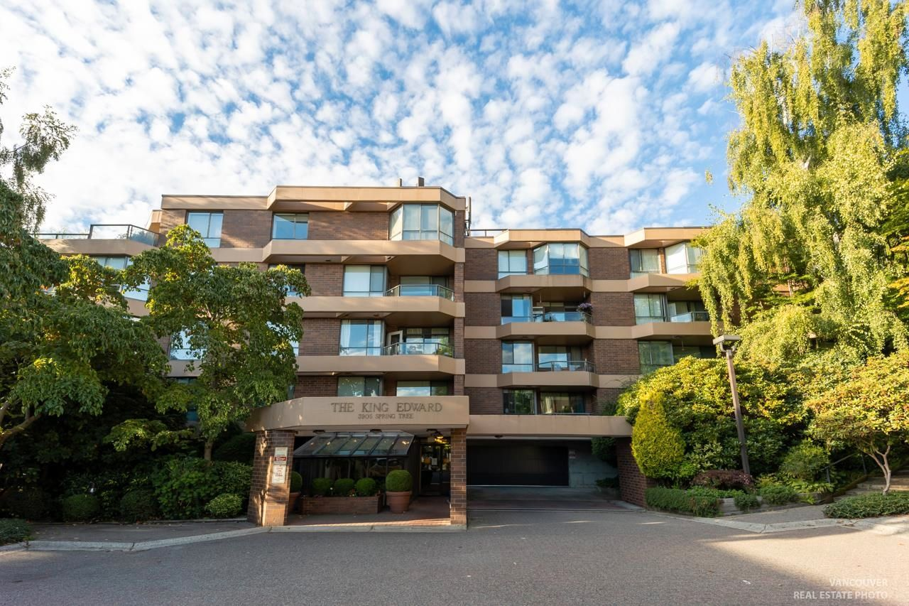 """Main Photo: 402 3905 SPRINGTREE Drive in Vancouver: Quilchena Condo for sale in """"THE KING EDWARD"""" (Vancouver West)  : MLS®# R2616578"""