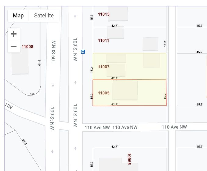 Main Photo: 11005 109 Street in Edmonton: Zone 08 Multi-Family Commercial for sale : MLS®# E4230500