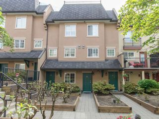 Photo 1: 66 1561 BOOTH Avenue in Coquitlam: Maillardville Townhouse for sale : MLS®# R2067726