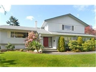 Photo 1:  in VICTORIA: SE Gordon Head House for sale (Saanich East)  : MLS®# 466315
