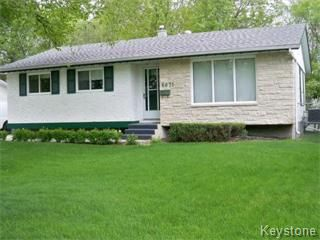 Photo 1: 6671 Betsworth Avenue in Winnipeg: Charleswood Single Family Detached for sale (West Winnipeg)  : MLS®# 1110583