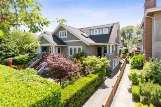 Photo 1: 4 144 W 14TH Avenue in Vancouver: Mount Pleasant VW Townhouse for sale (Vancouver West)  : MLS®# R2385069