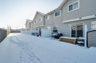 Photo 37: 11 230 EDWARDS Drive in Edmonton: Zone 53 Townhouse for sale : MLS®# E4226878