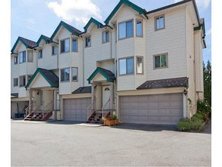 "Photo 1: 6 2420 PITT RIVER Road in Port Coquitlam: Mary Hill Townhouse for sale in ""PARKSIDE ESTATES"" : MLS®# V1143548"