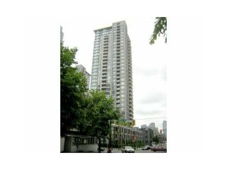 "Photo 1: 804 928 HOMER Street in Vancouver: Downtown VW Condo for sale in ""YALETOWN PARK 1"" (Vancouver West)  : MLS®# V830262"