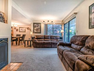 """Photo 3: 8551 WILDERNESS Court in Burnaby: Forest Hills BN Townhouse for sale in """"Simon Fraser Village"""" (Burnaby North)  : MLS®# R2490108"""