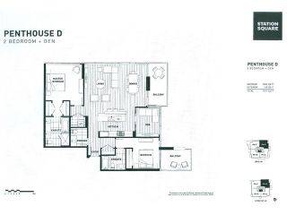 """Main Photo: 3903 4688 KINGSWAY in Burnaby: Metrotown Condo for sale in """"Station Square I"""" (Burnaby South)  : MLS®# R2505649"""