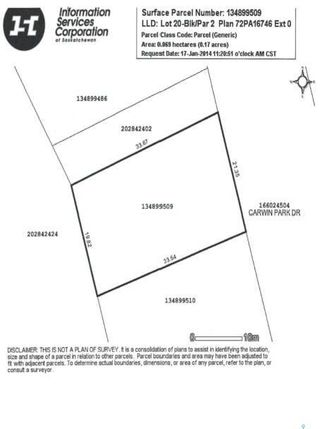 Photo 6: 152 Carwin Park Drive in Emma Lake: Lot/Land for sale : MLS®# SK846950