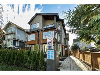 """Photo 1: 1808 E PENDER Street in Vancouver: Hastings Townhouse for sale in """"AZALEA HOMES"""" (Vancouver East)  : MLS®# V1051679"""