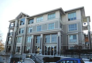 """Photo 1: 107 240 FRANCIS Way in New Westminster: Fraserview NW Condo for sale in """"THE GROVE"""" : MLS®# R2129428"""