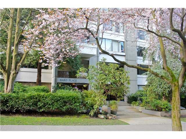"Main Photo: # 403 1500 HARO ST in Vancouver: West End VW Condo for sale in ""HARO PLACE"" (Vancouver West)  : MLS®# V941758"