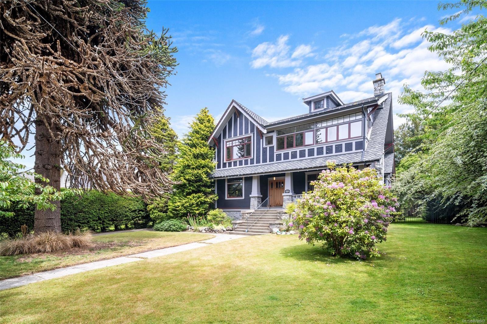 Main Photo: 757 Transit Rd in : OB South Oak Bay House for sale (Oak Bay)  : MLS®# 878842