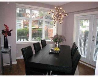 """Photo 5: 3858 WELWYN Street in Vancouver: Victoria VE Townhouse for sale in """"STORIES"""" (Vancouver East)  : MLS®# V774783"""