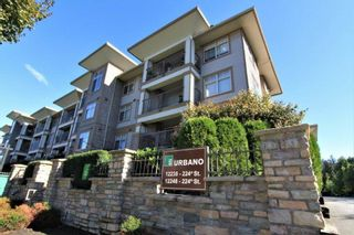 "Photo 1: 316 12248 224 Street in Maple Ridge: East Central Condo for sale in ""URBANO"" : MLS®# R2211064"