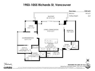 """Photo 40: 1903 1055 RICHARDS Street in Vancouver: Downtown VW Condo for sale in """"The Donovan"""" (Vancouver West)  : MLS®# R2618987"""