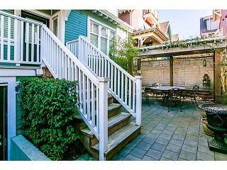 """Photo 15: 1 1624 GRANT Street in Vancouver: Grandview VE Townhouse for sale in """"GRANTS PLACE"""" (Vancouver East)  : MLS®# V1046767"""