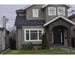 Photo 1: 3177 E 21ST AVENUE in Renfrew Heights: Home for sale : MLS®# R2031216