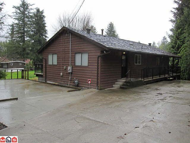 Main Photo: 32720 DEWDNEY TRUNK ROAD in : Mission BC House for sale : MLS®# F1107189