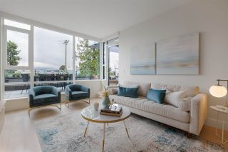 """Photo 1: 202 3639 W 16TH Avenue in Vancouver: Point Grey Condo for sale in """"The Grey"""" (Vancouver West)  : MLS®# R2561367"""