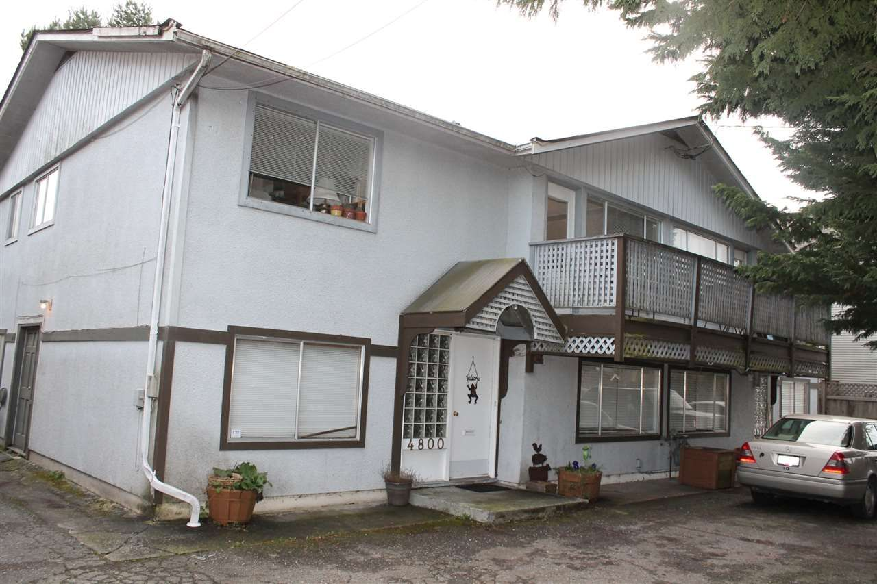 Main Photo: 4780-4800 STEVESTON HIGHWAY in : Steveston South Fourplex for sale : MLS®# R2035661