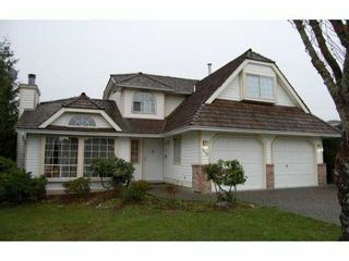 Main Photo: 2438 COLONIAL Drive in Port Coquitlam: Citadel PQ House for sale : MLS®# V813887