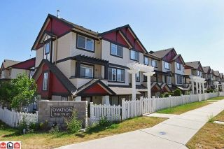 Photo 1: # 37 7168 179TH ST in Surrey: Clayton Condo for sale (Cloverdale)  : MLS®# F1018835