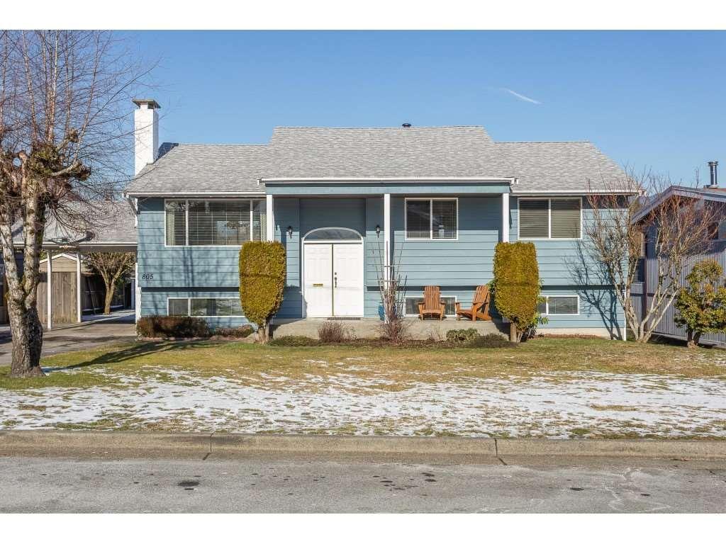 Main Photo: 805 REGAN Avenue in Coquitlam: Coquitlam West House for sale : MLS®# R2340177