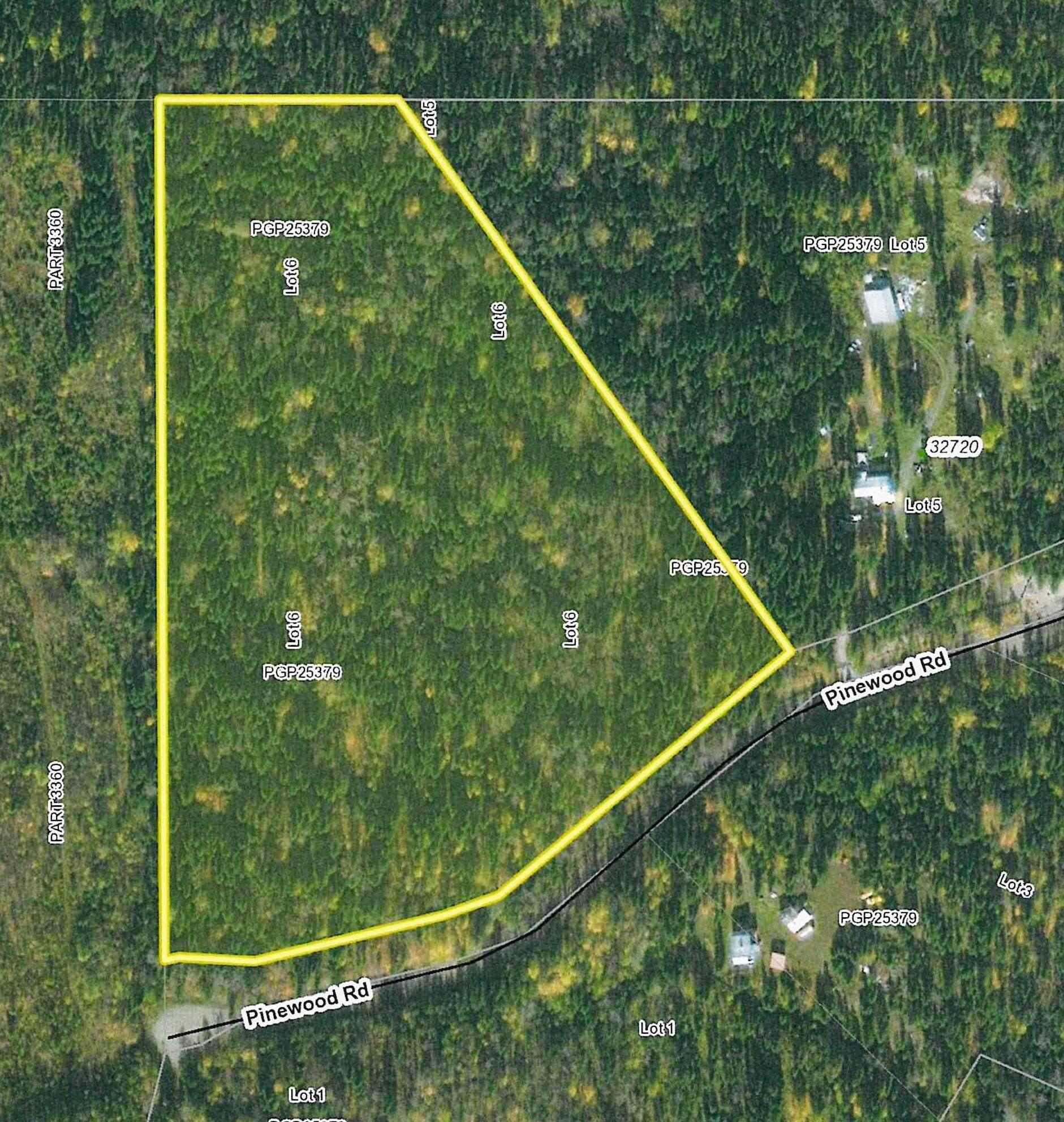"Main Photo: LOT 6 PINEWOOD Road in Prince George: Isle Pierre Land for sale in ""ISLE PIERRE"" (PG Rural West (Zone 77))  : MLS®# R2617508"