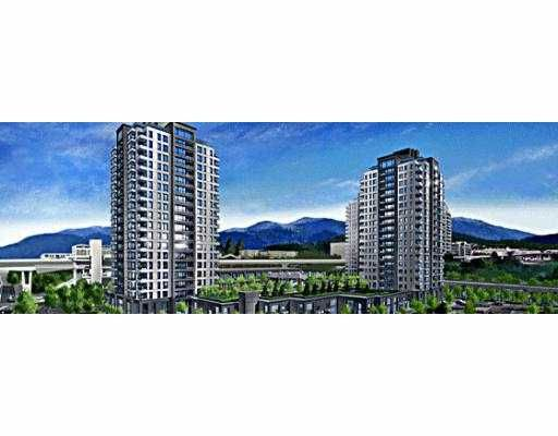 """Main Photo: 1104 4182 DAWSON Street in Burnaby: Central BN Condo for sale in """"TANDEM"""" (Burnaby North)  : MLS®# V639070"""