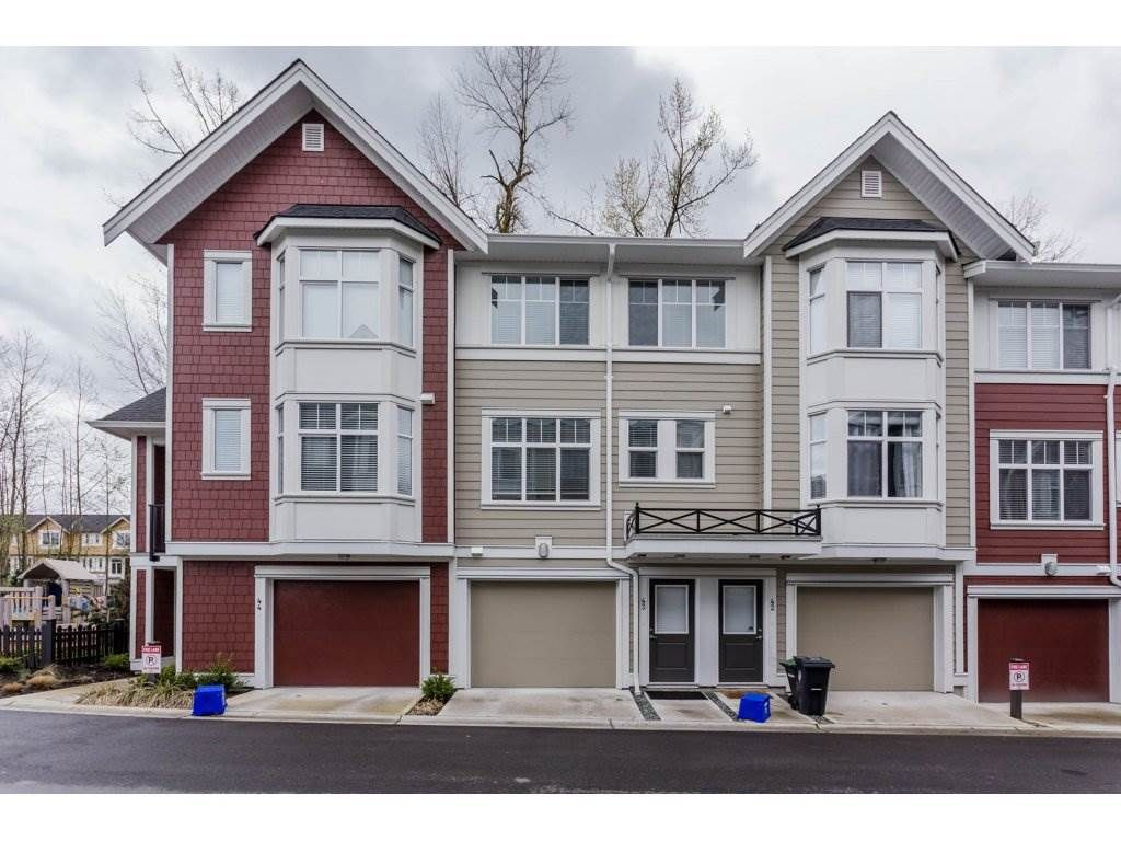 "Main Photo: 43 20852 77A Avenue in Langley: Willoughby Heights Townhouse for sale in ""ARCADIA"" : MLS®# R2156486"