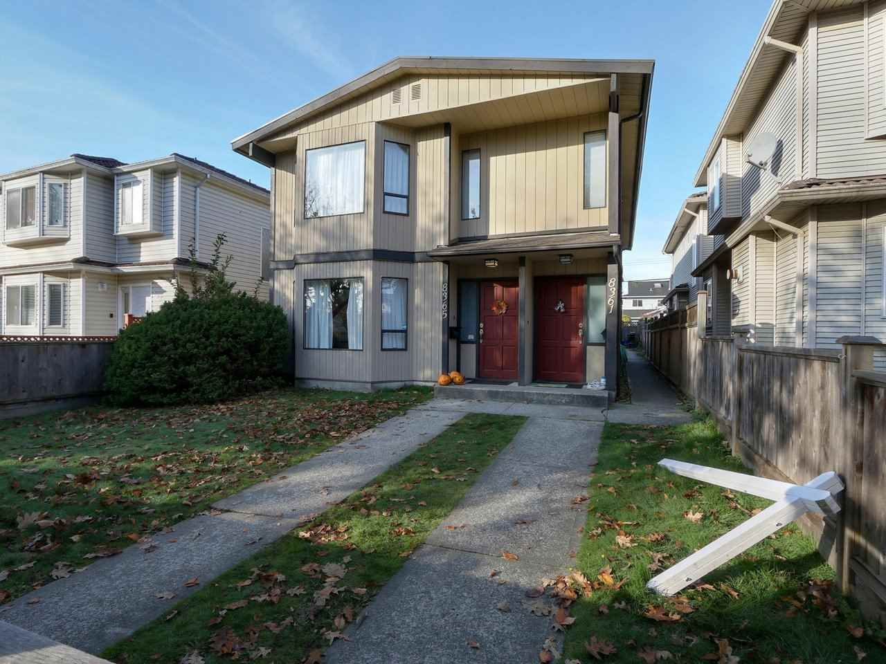 """Main Photo: 8361- - 8365 CARTIER Street in Vancouver: Marpole House for sale in """"MARPOLE"""" (Vancouver West)  : MLS®# R2416944"""