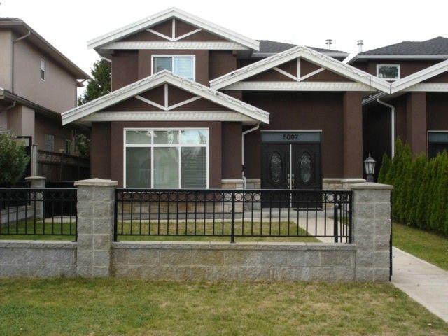 Main Photo: 5007 Irmin Street in Burnaby: 1/2 Duplex for sale : MLS®# V1086639
