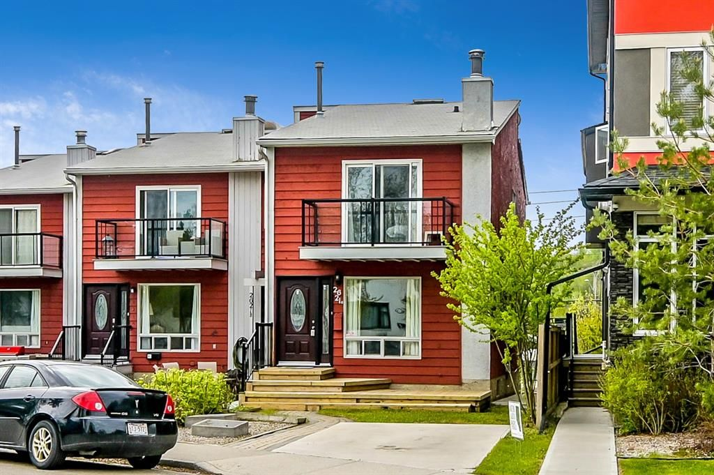 Photo 1: Photos: 2621C 1 Avenue NW in Calgary: West Hillhurst Row/Townhouse for sale : MLS®# A1111551