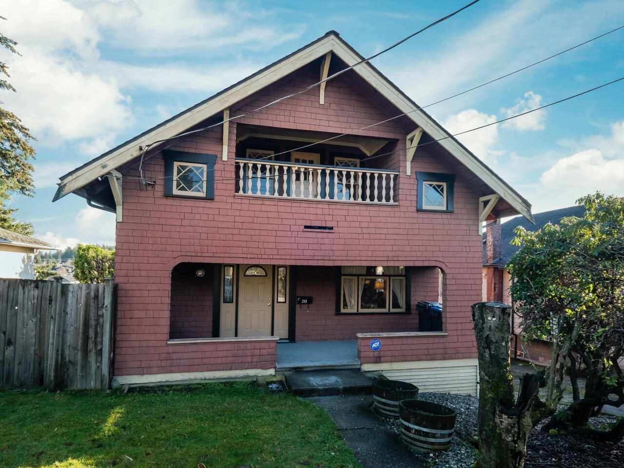 Main Photo: 218 TENTH Avenue in New Westminster: GlenBrooke North House for sale : MLS®# R2530208