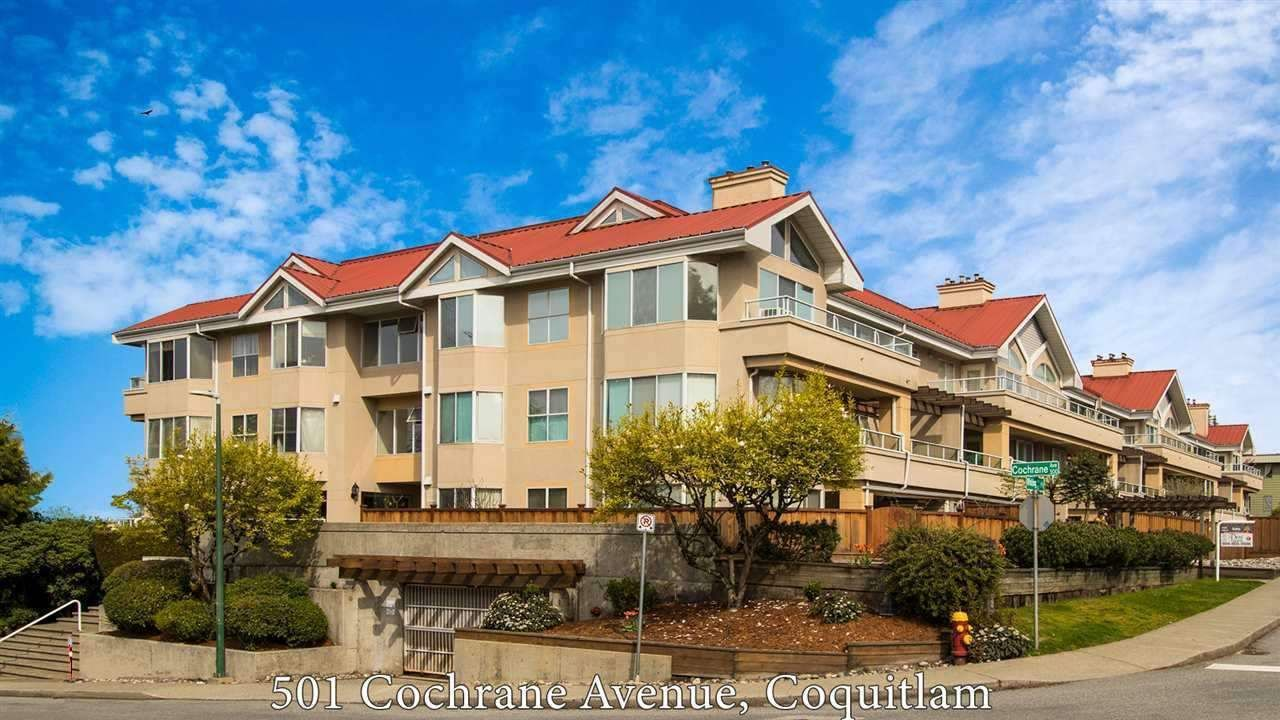 "Main Photo: 212 501 COCHRANE Avenue in Coquitlam: Coquitlam West Condo for sale in ""Garden Terrace"" : MLS®# R2529215"