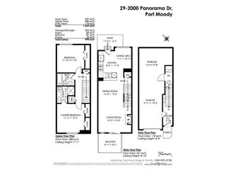 """Photo 21: 29 2000 PANORAMA Drive in Port Moody: Heritage Woods PM Townhouse for sale in """"MOUNTAINS EDGE"""" : MLS®# R2581124"""