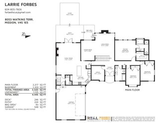 """Photo 36: 8053 WATKINS Terrace in Mission: Mission BC House for sale in """"MISSION"""" : MLS®# R2606897"""