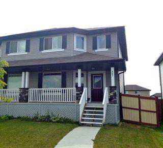 Photo 1: 447 Songhurst Place: Leduc House Half Duplex for sale : MLS®# E3344448